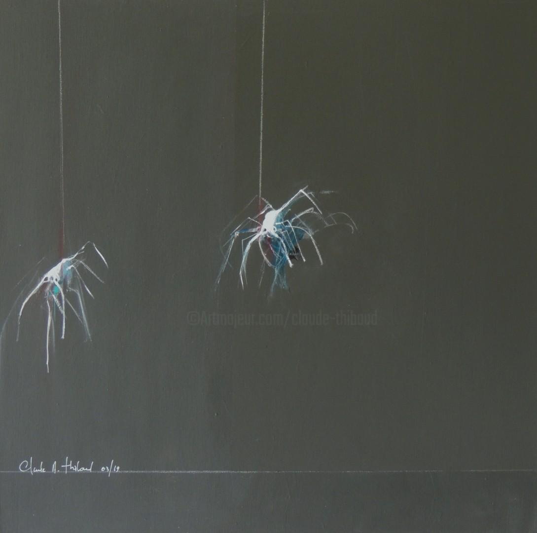 Claude André THIBAUD - ARAIGNEES DU SOIR ESPOIR/ SPIDERS OF EVENING HOPE