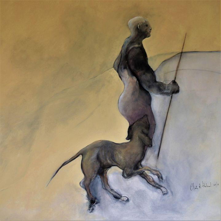 Claude André THIBAUD - LA PROMENADE / THE WALK