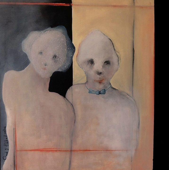 Claude André THIBAUD - LES MARIéS / THE BRIDE AND GROOM